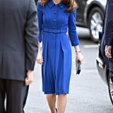 Kate Middleton Blue Eponine Dress November 2018