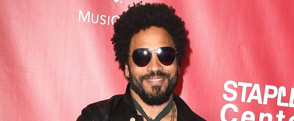 Lenny Kravitz Has a New Girlfriend and She's a Victoria's Secret Model