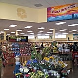 The inviting decor makes grocery shopping more fun.