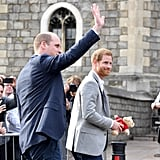 Prince Harry and Meghan Markle at Final Wedding Rehearsal