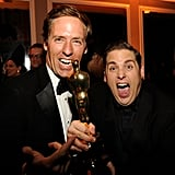 Nat Faxon and Jonah Hill