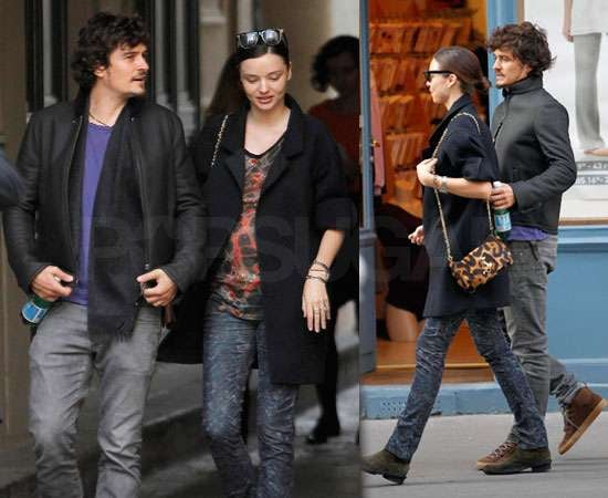 Pictures of Orlando Bloom and Pregnant Miranda Kerr