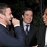 When They Casually Conversed With Jay Z at GQ's 2011 Men of the Year Party