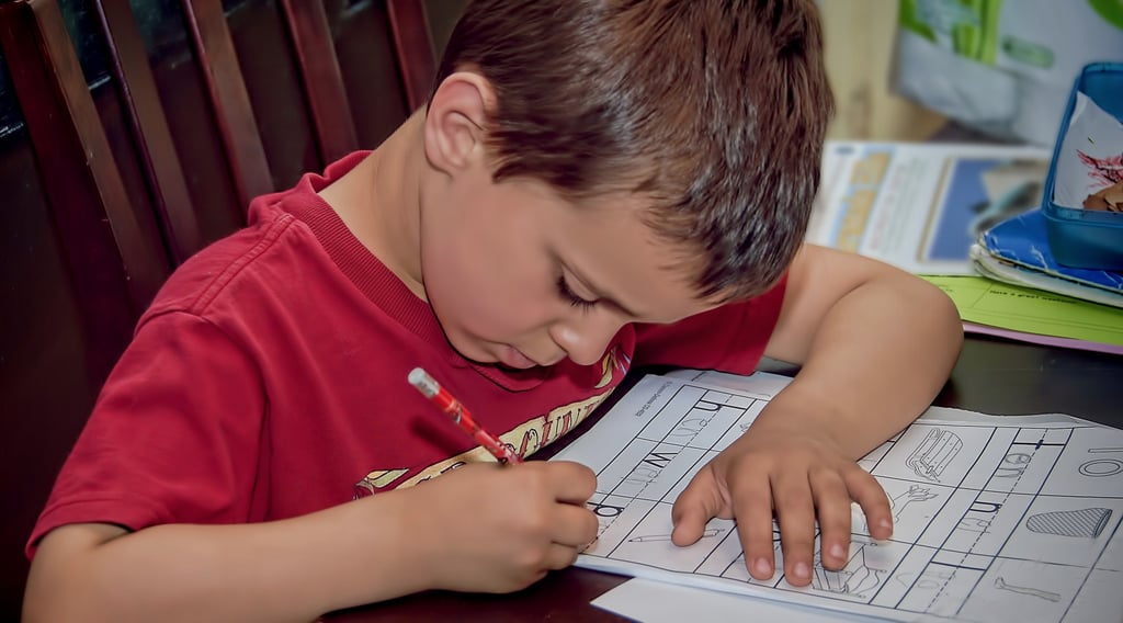 How to Create a Homework Routine For Kids