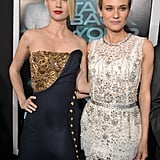 Diane Kruger, January Jones, and Liam Neeson Premiere Unknown