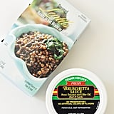 Steamed Lentils + Trader Giotto's Fresh Bruschetta Sauce