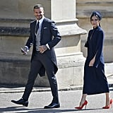 Victoria and David Beckham Royal Wedding Outfits Competition