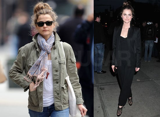 Photos of Keri Russell Going Casual in NYC Before a Screening of Leaves of Grass