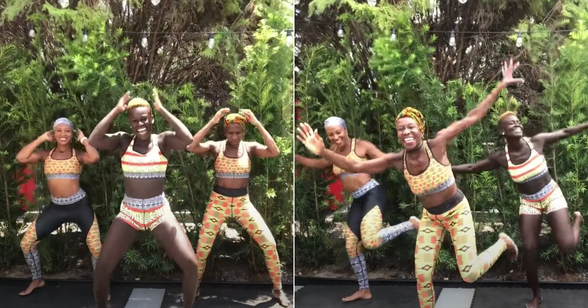 Break a Sweat With This Fun, Fast-Paced, 15-Minute African Dance Workout