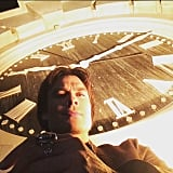The Mystic Falls Clock Tower Selfie