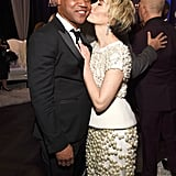 Pictured: Cuba Gooding Jr. and Sarah Paulson