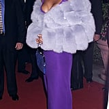 Whitney in 2000 at the Clive Davis and Arista party.