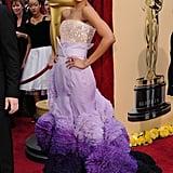 Zoe Saldana, 2010 Oscars