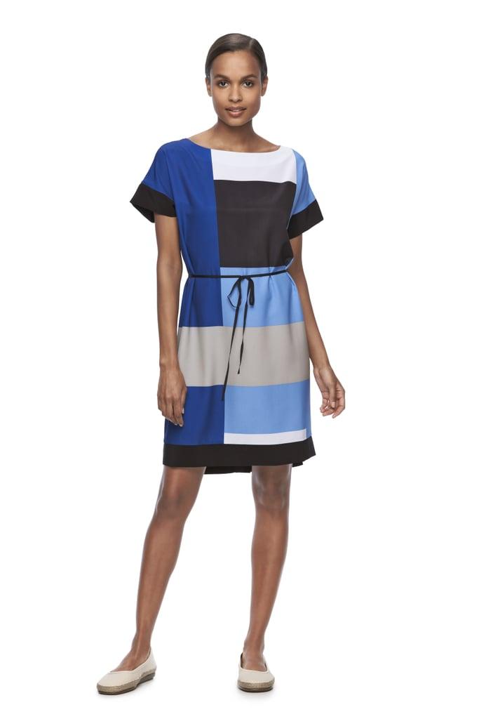 Colorblock Shift Dress ($68)