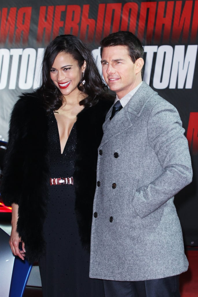 Tom Cruise and Paula Patton looked picture-perfect at the premiere of Mission: Impossible – Ghost Protocol.
