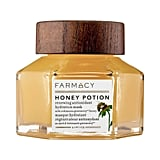 Farmacy's Honey Potion Renewing Antioxidant Hydration Mask ($56) is a tingling treatment with some great reviews and a fancy-looking jar.