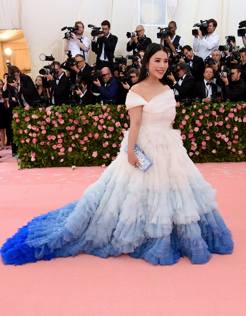 Wendy Yu at the 2019 Met Gala