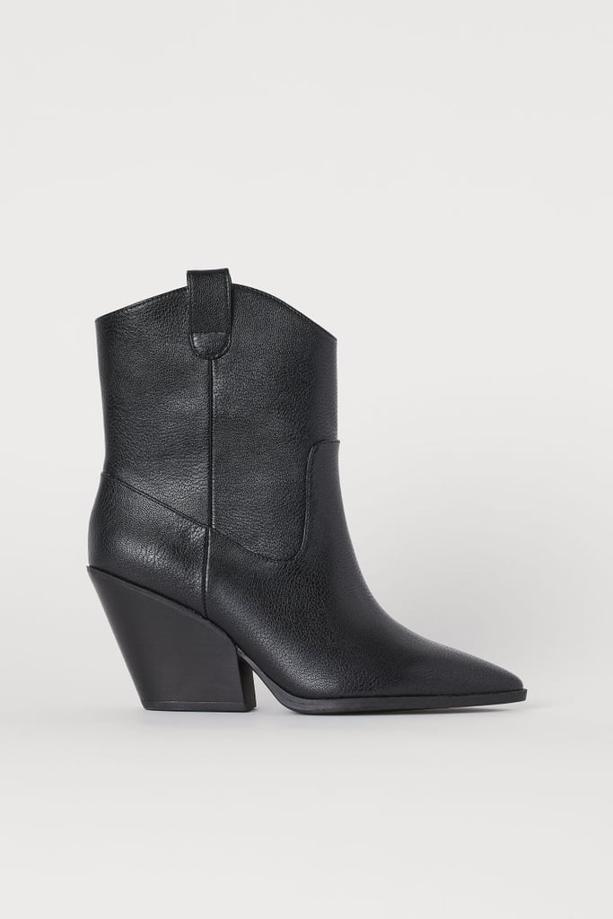H&M Boots With Pointed Toes