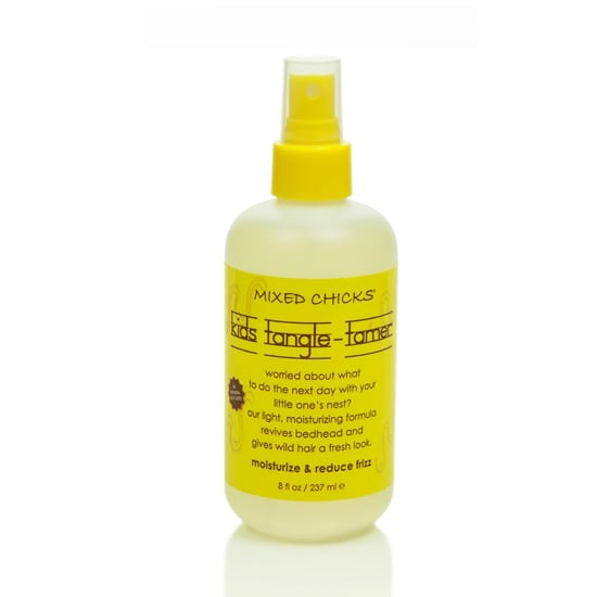 Mixed Chicks Kids Tangle-Tamer ($13) is the secret to taming bed head. It's a light formula — perfect for kids — that will freshen up curls with a few sprays.
