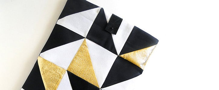 Geometric Laptop Sleeve DIY