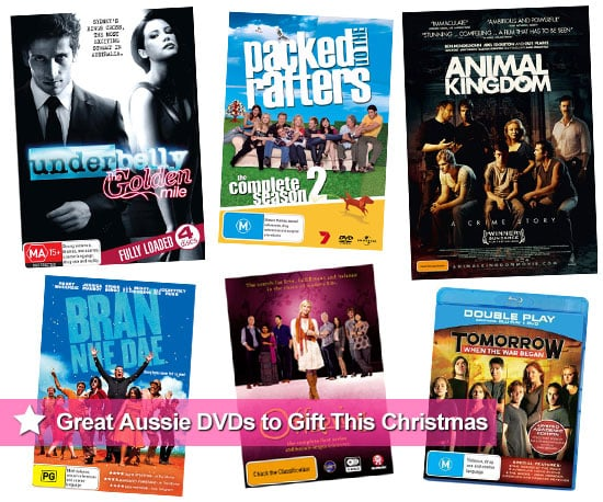 Top 10 Australian DVDs for Christmas Including Animal Kingdom, Packed to the Rafters and Underbelly