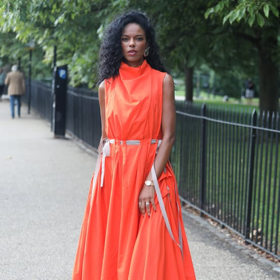 Street Style Is Full of Bright Colors at London Fashion Week