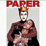 The Evil Queen on the Cover of Paper Magazine With Olivier Rousteing
