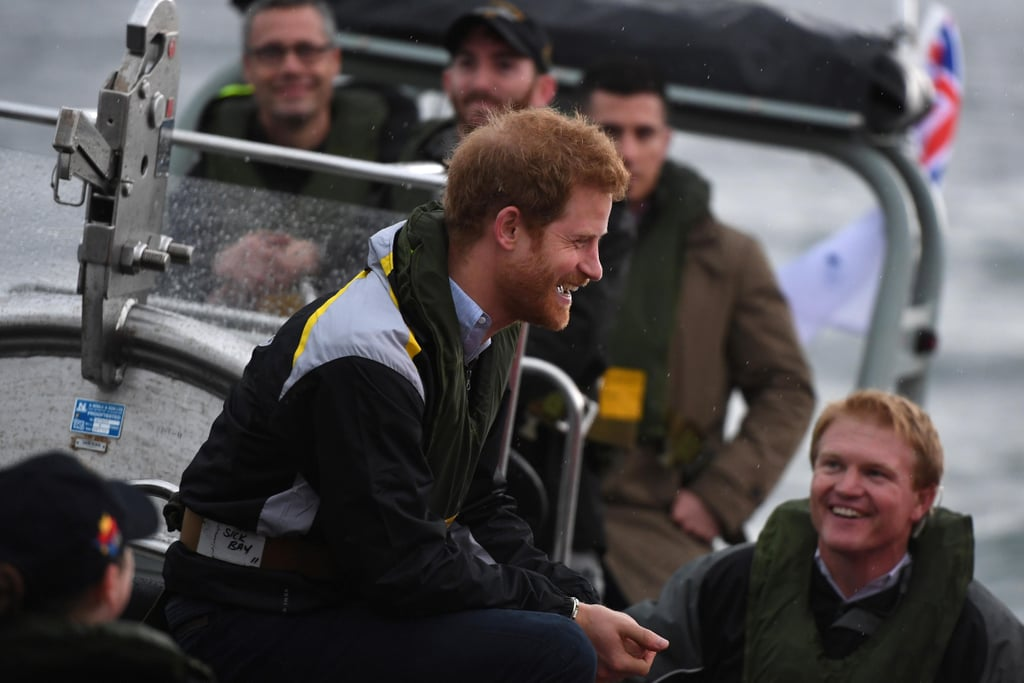 Pictures of Prince Harry in Sydney June 2017