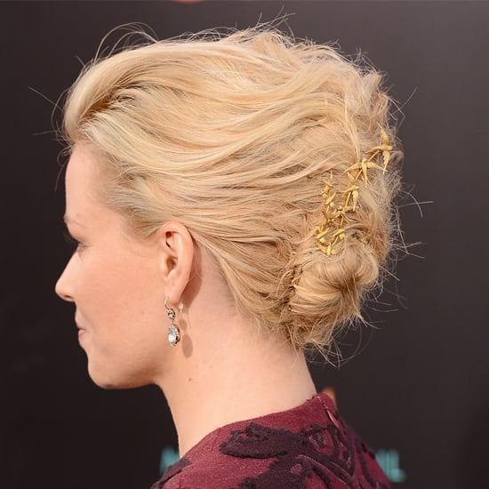 Gold Hair Accessory Trend: Spring 2012