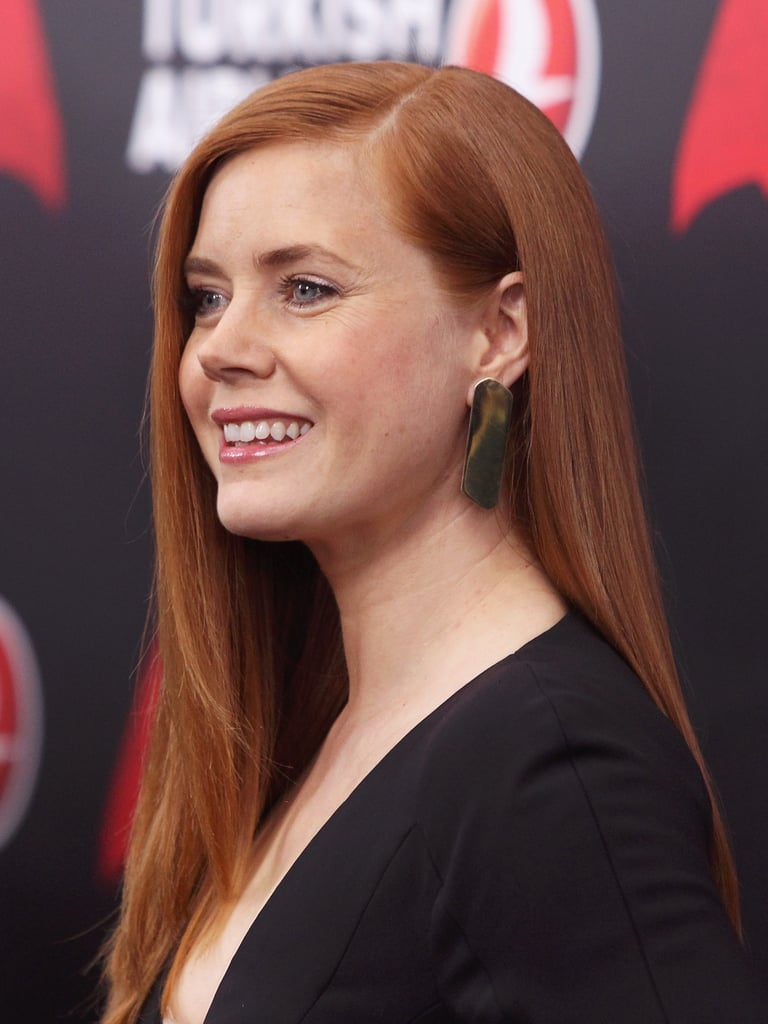 Amy Adams With Straight, Red Hair in 2016