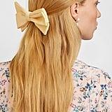 Emilia Wickstead Grosgrain Bow Hair Clip