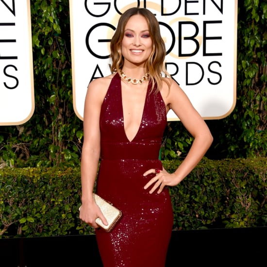 Olivia Wilde's Gown at the Golden Globe Awards 2016