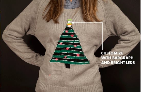 LittleBits Ugly Sweater Hack