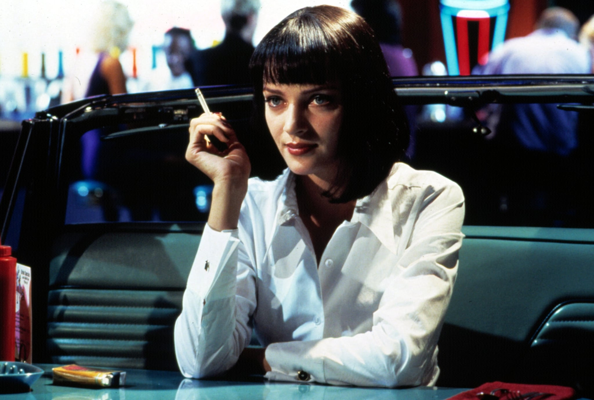 Mia Wallace Pulp Fiction 15 Last Minute Pop Culture Costumes Popsugar Entertainment Photo 8