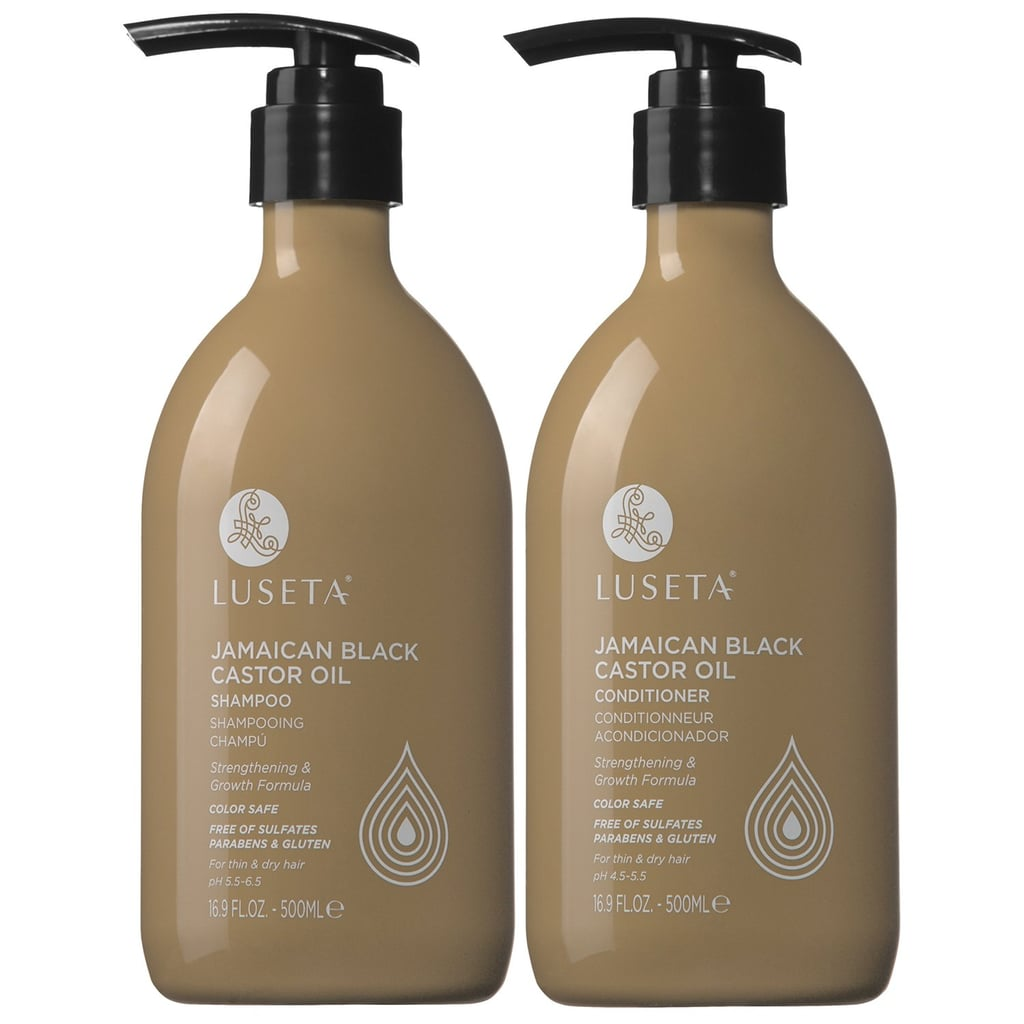 Luseta Jamaican Black Castor Oil Shampoo and Conditioner Set
