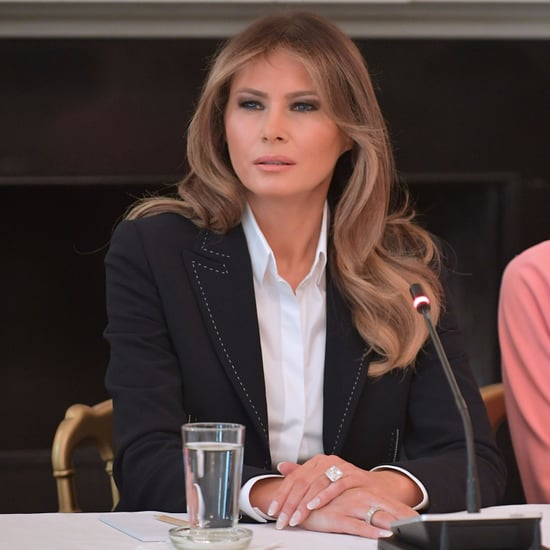 Melania Trump's  Black Escada Blazer
