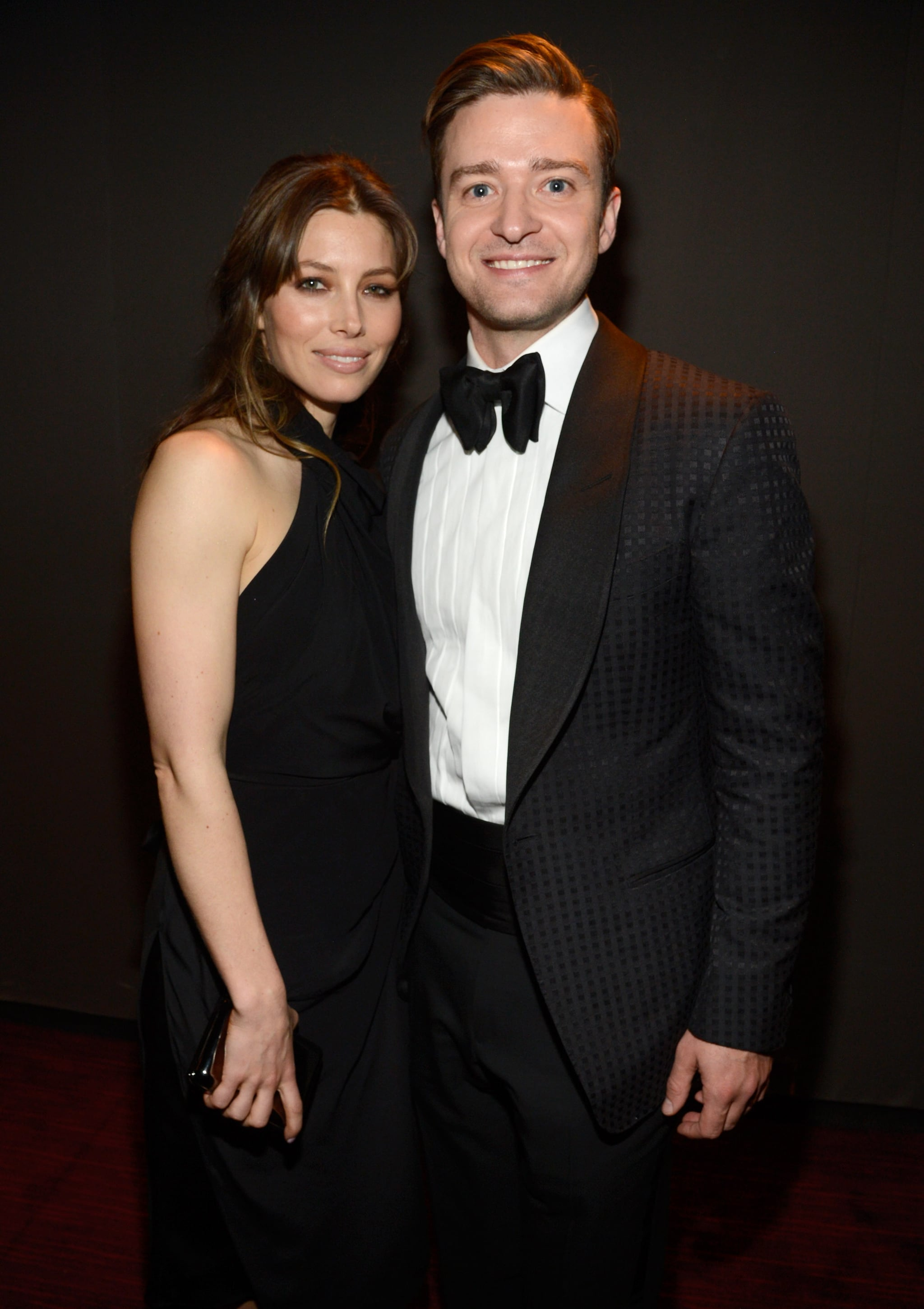 Justin and his wife, Jessica Biel, were all smiles at the Time 100 Gala in April 2013.