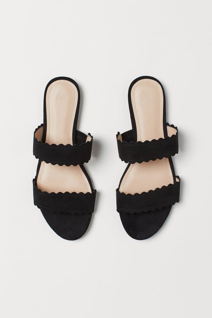 H&M Black Sandals