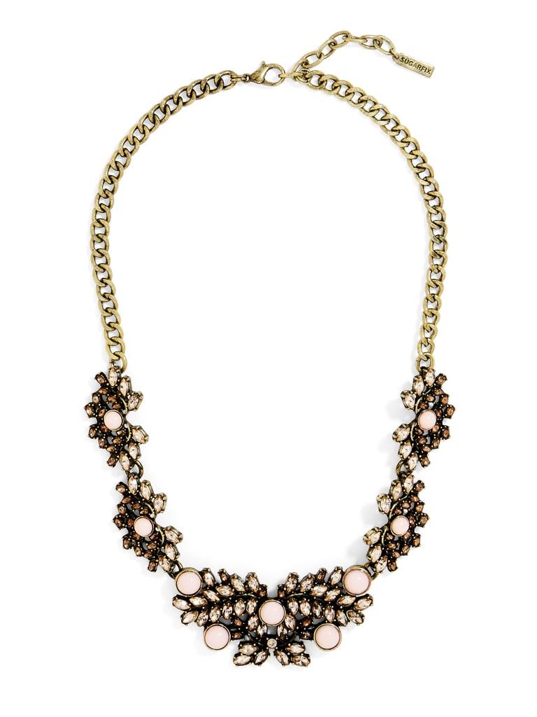 SugarFix by BaubleBar x Target Crystal Bib Necklace ($20