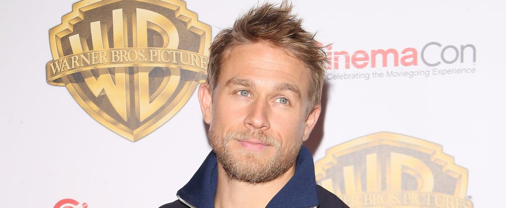 Charlie Hunnam Wants to Have a Beer With a Fan