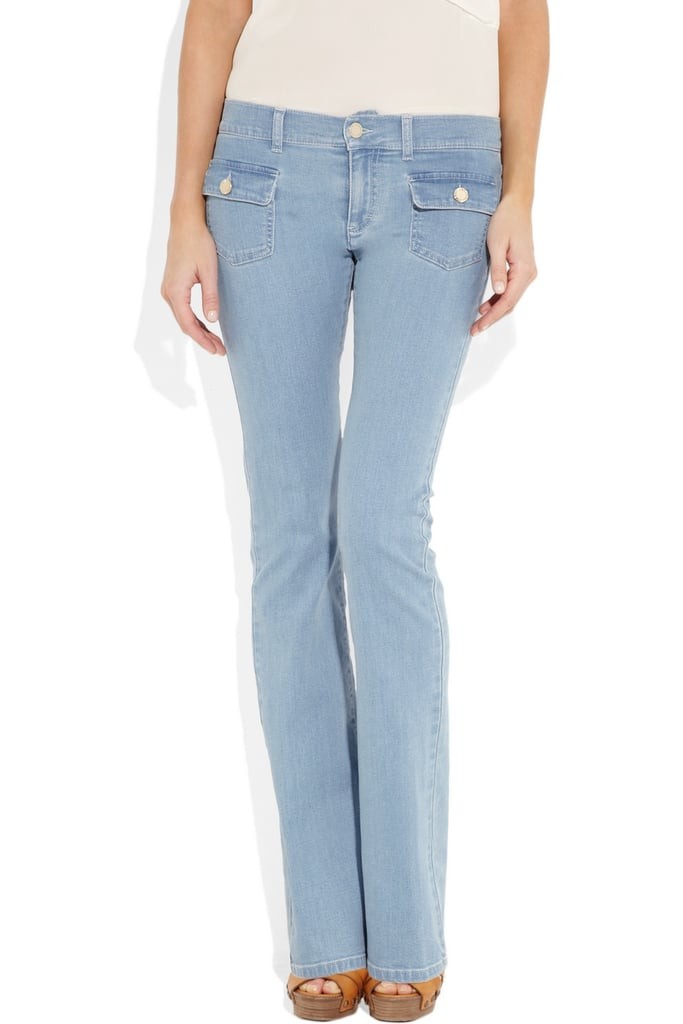 Mulberry Mid-Rise Flared Jeans ($310)