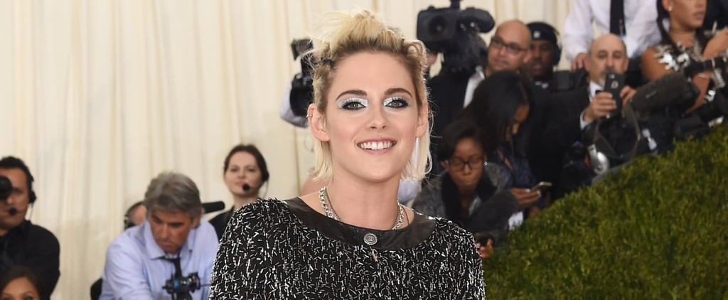 Kristen Stewart Goes Stag — and Shows Some Leg — at the Met Gala