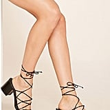 Forever 21 Strappy Lace-Up Sandals ($30)