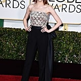 Emma Stone was one of the best dressed of the night.