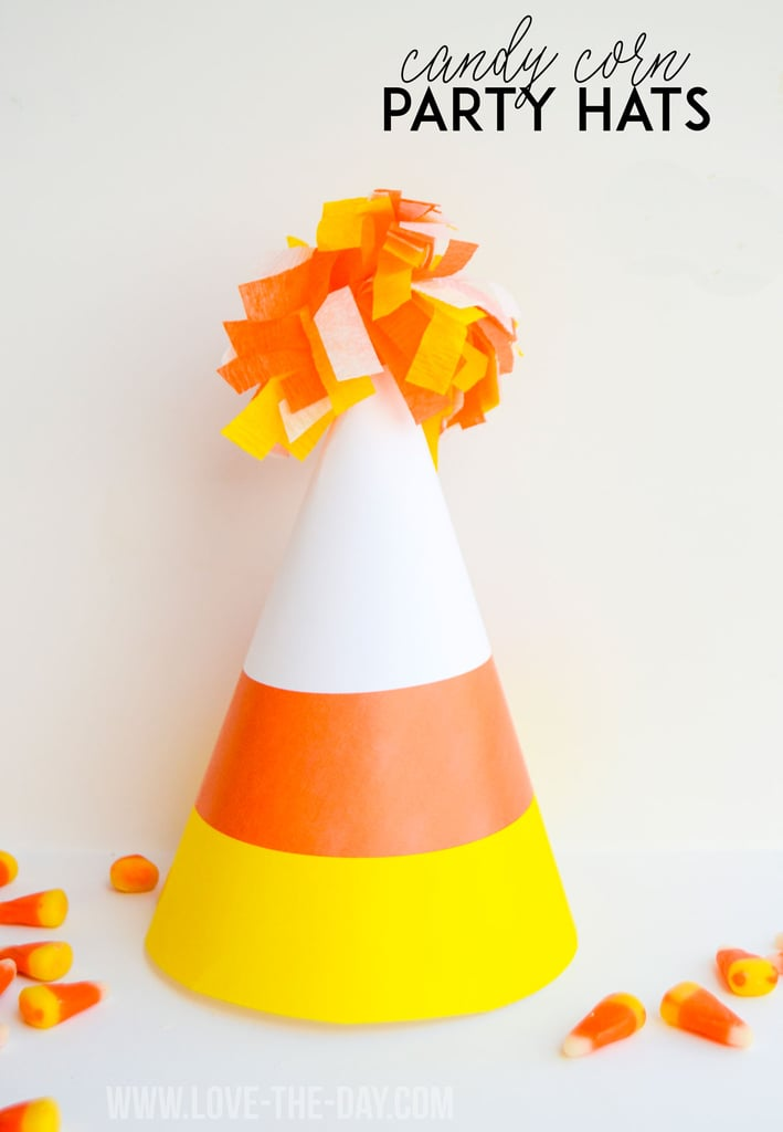 Candy Corn Party Hats