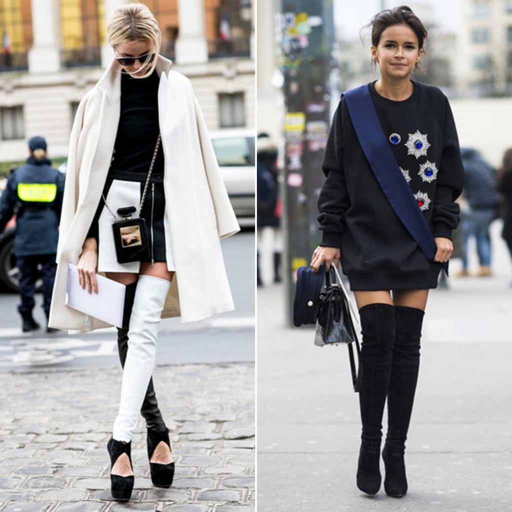 Paris Haute Couture Week Street Style Popsugar Fashion Australia