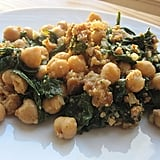 Spinach With Garbanzos