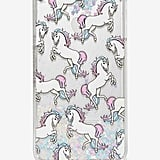 Glitter Unicorn iPhone 6 Plus Case ($28)