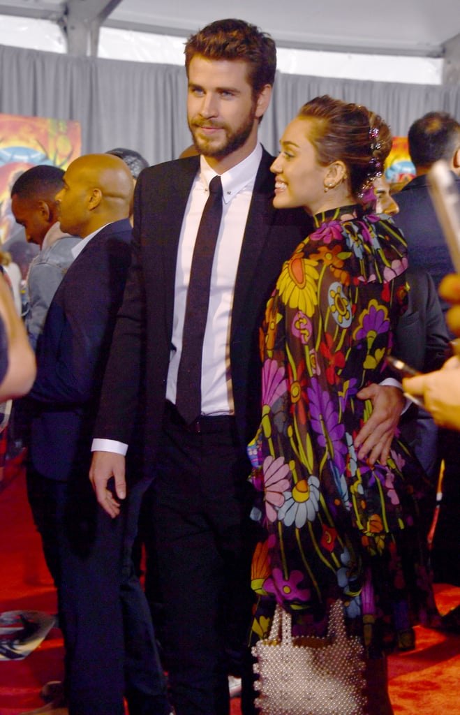 Miley Cyrus Rarely Does Red Carpets — but in This Dress, She Can Do Anything