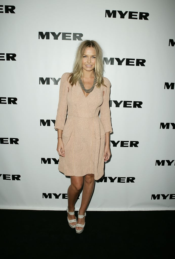 Lara Bingle at the Myer Spring Summer 2009/2010 Launch